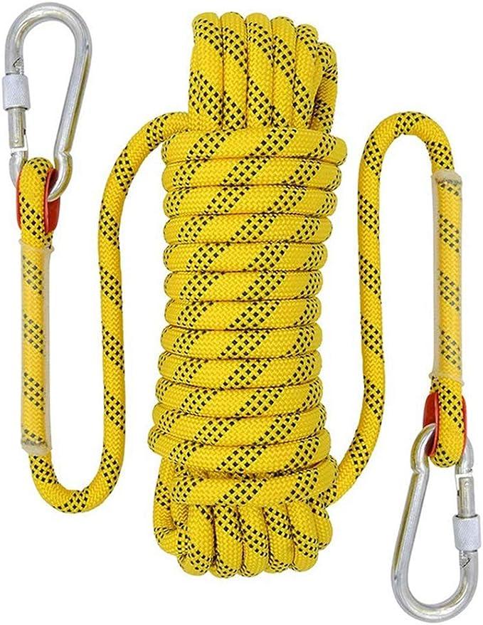Cuerda De Escalada Al Aire Libre De 12 Mm Heavy Duty Safty ...