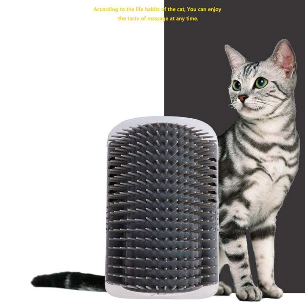 AOLVO - Cepillo de Masaje para Gatos con Bolsa de Gato, masajeador ...