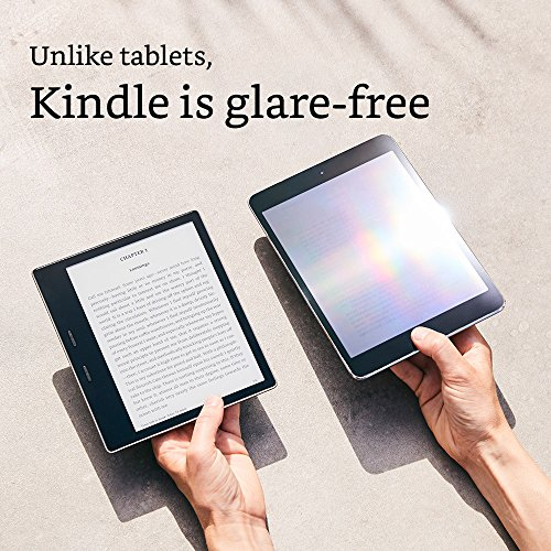"""Kindle Oasis E-reader (Previous Generation - 9th) - 7"""" High-Resolution Display (300 ppi), Waterproof, 8 GB, Wi-Fi (International Version) (Closeout)"""