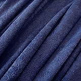 Stoff Meterware Frotté Frottee blau preussischblau reine