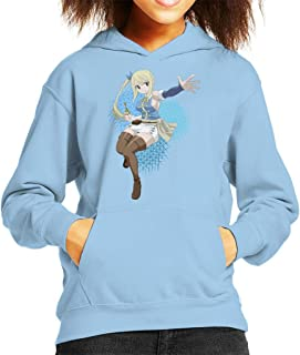 Fairy Tail Lucy Heartfilia Kid's Hooded Sweatshirt