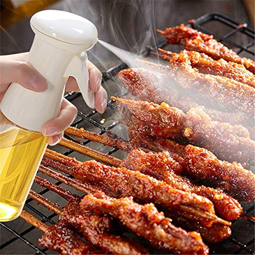 AYCPG Pulverizador de Aceite de Cocina Spray Botella de hidromasaje Cocina para Hornear Vinagre Rociador Rociador Barbacoa Spray Botella para Cocina de Casa Cocina 210ml lucar