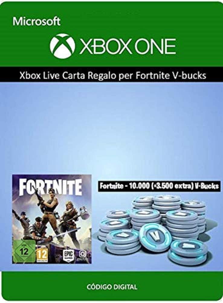Tarjeta regalo de Xbox para Fortnite - 4000 paVos (+1000 adicionales) [Xbox Live Código Digital]: Amazon.es: Videojuegos