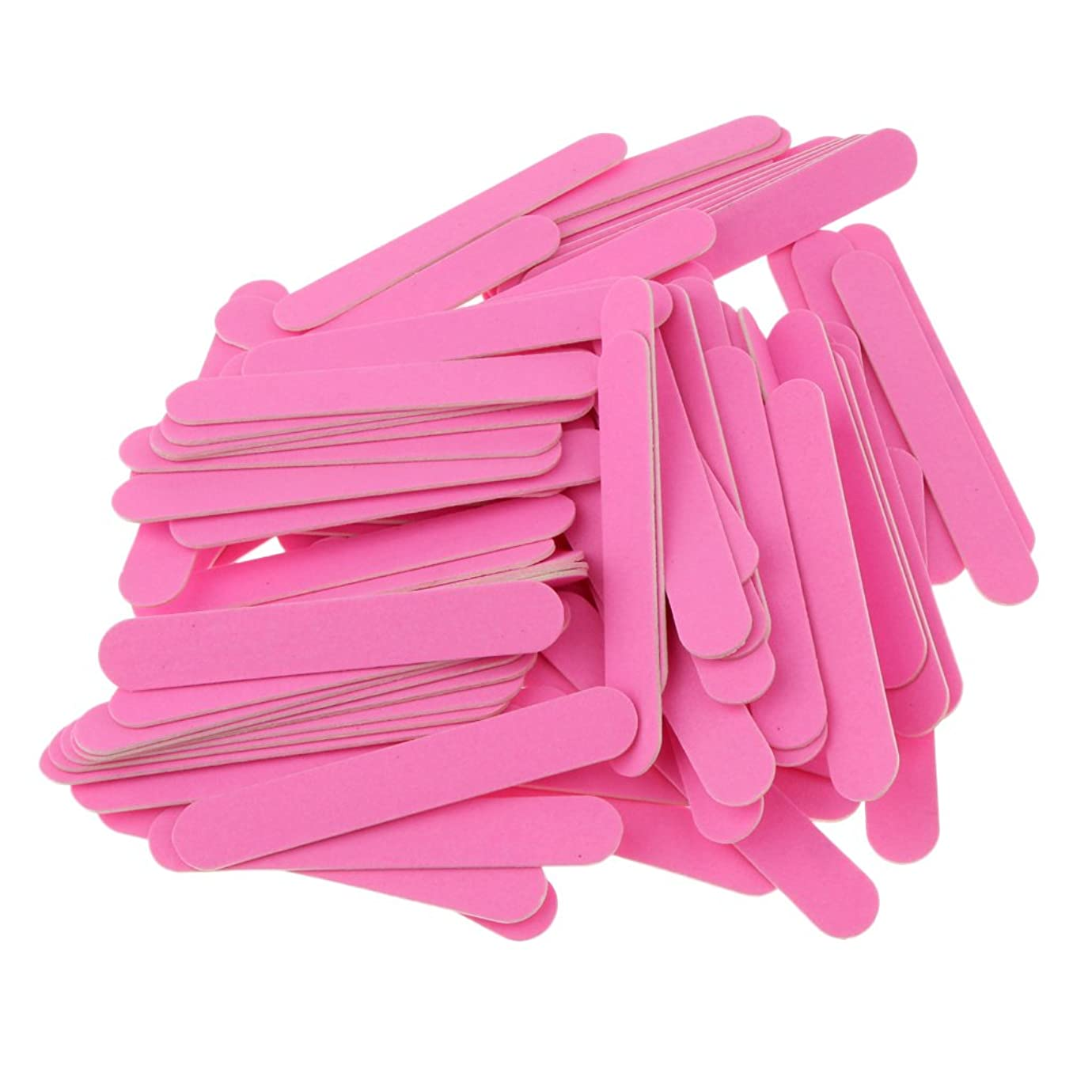 大胆な筋肉の光沢Blesiya 約100個 ネイルファイル 滑らか 光沢 爪のファイル バッファブロックセット プロ マニキュアキット