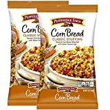 Pepperidge Farm Corn Bread Classic Stuffing Pack of 2, 14 Oz Bag | Toasted Corn Bread Blended With...
