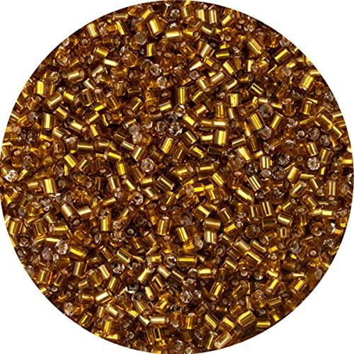 25 colores sueltos 2 * 3mm 800 piezas cuentas de aguja de semillas de vidrio cilíndricas para collar pulsera cuentas de vidrio para joyería DIY Making-G4,2-3mm