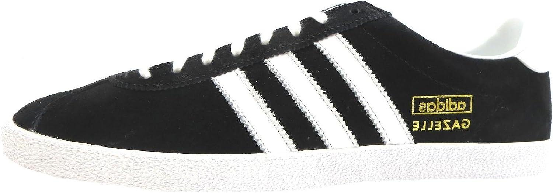 Adidas Gazelle Og, Herren Schnürhalbschuhe Schwarz schwarz