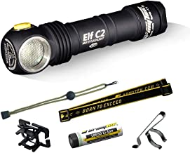 ArmyTek Elf C2 LED Hoofdlamp werkt op een accu 900 lm F05101SC