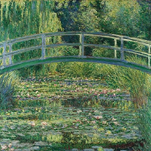 "Napkin/Luncheon -""Water-Lily Pond"" by Claude Monet"