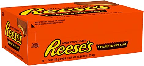 reese's peanut butter cup box