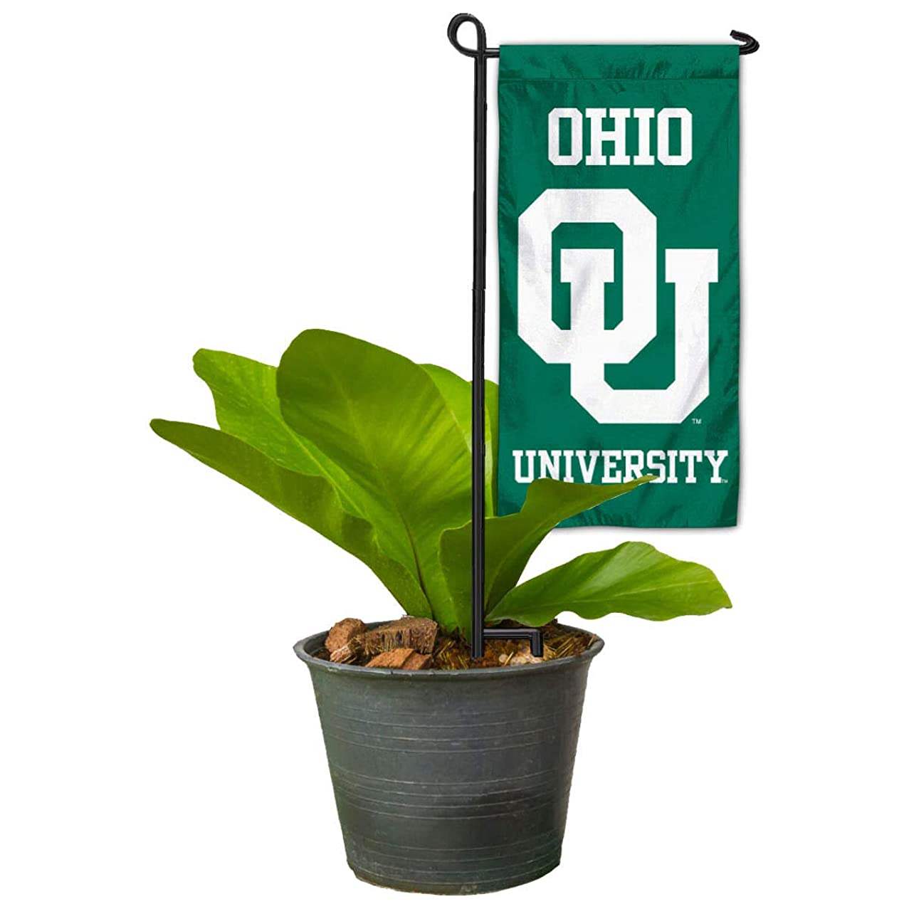 Ohio Bobcats Mini Garden and Flower Pot Flag Topper