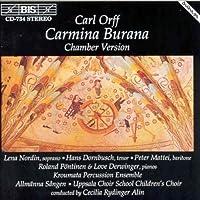Orff: Carmina Burana [Kammerversion / Chamber Version] (1995-10-24)