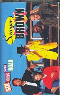 SAWYER BROWN: Six Days on the Road Cassette Tape