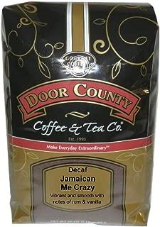 Door County Coffee, Jamaican Me Crazy Decaf, Ground, 5lb Bag