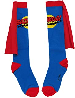 Animewild The Big Bang Theory Bazinga Cape Adult Socks