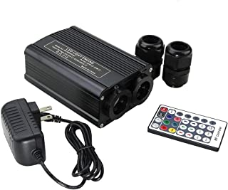 32W Fiber Optic Star Ceiling Dual Port Engine Driver CREE LED Lights Source with 28key RF Remote Control