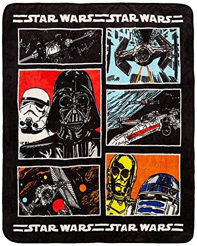 Star Wars Classic Throw Blanket for Youth