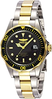 """Invicta Men's 8934 """"Pro-Diver Collection"""" Two-Tone Stainless Steel Watch, Silver-Tone/Black"""
