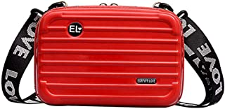 Jata Hogar Trolley Bag with Carrying Handle and Wheels Folding Extra Strong Red 35.5/x 17/x 50/cm Polyester Aluminium Foil