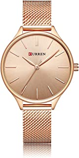 CURREN 9024 Women Watch Quartz Movement Wrist Watch Simple Causal Gift for Women
