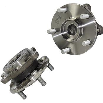 DRIVESTAR 512374x2 Set OF 2 New Rear Wheel Hubs /& Bearings for 06-12 Toyota RAV4 4WD