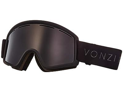 VonZipper Cleaver Goggle (Black Satin/Wild Blackout) Snow Goggles
