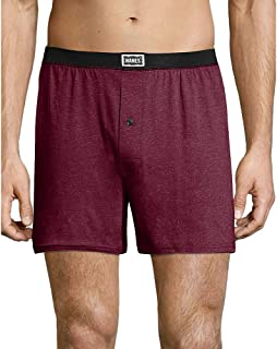 Hanes 1901 Heritage Dyed Knit Boxers Assorted (191BX4)