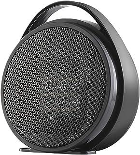 QQLK Mini Calefactor Silencioso De 800W - Calefactor PortáTil EléCtrico, Apto para Hogares Y Oficinas,Negro