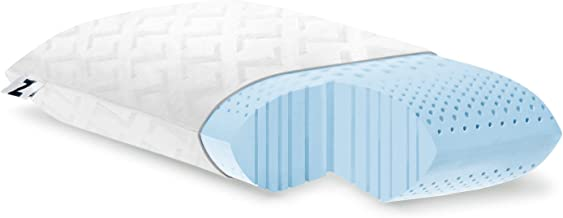 Z ZONED GEL DOUGH Gel-Infused Memory Foam Bed Pillow - 5-year Warranty - King - Mid Loft