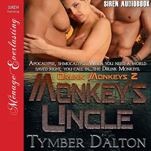 Monkey's Uncle audiobook cover art