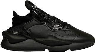 ADIDAS Y-3 YOHJI YAMAMOTO Men's EF2561 Black Leather Sneakers