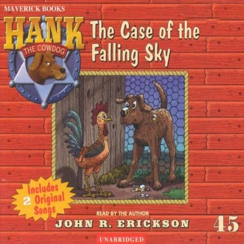 The Case of the Falling Sky audiobook cover art