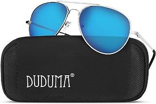52bb7e343e1 Duduma Aviator Sunglasses for Mens Womens Mirrored Sun Glasses Shades with  Uv400