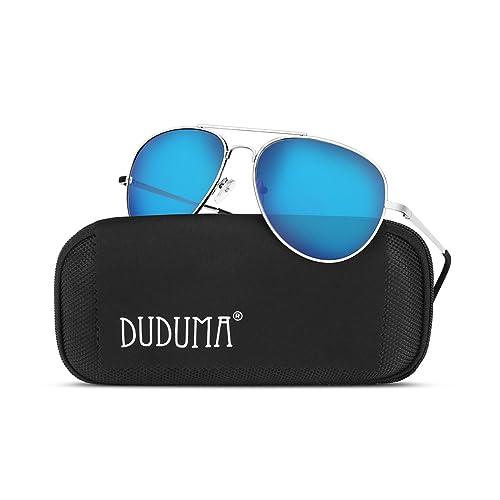 c124f15fce Duduma Aviator Sunglasses for Mens Womens Mirrored Sun Glasses Shades with  Uv400