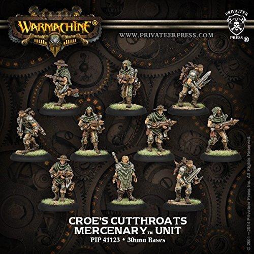 Warmachine Mercenaries: Croe's Cutthroats (10)