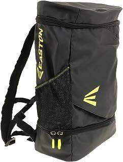 EASTON(イーストン) 野球用 バックパック バット用収納ポケット付 E300 SQP E300JSQPIY ブラック/イエロー