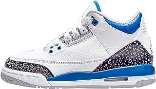 Big Kid's Jordan 3 Retro Racer Blue White/Racer...