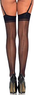 Leg Avenue Women's Sheer Backseam Stockings