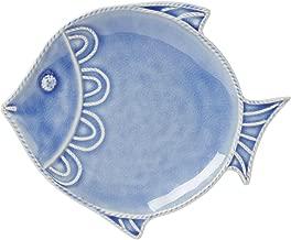 Juliska Berry & Thread Delft Blue Crackle Fish Dessert/salad