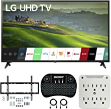 $479 Get LG 55UM6910 55-inch HDR 4K UHD Smart IPS LED TV (2019) Bundle with Deco Mount Flat Wall Mount Kit, Deco Gear Wireless Backlit Keyboard and 6-Outlet Surge Adapter with Night Light