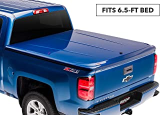 UnderCover LUX Painted One-Piece Truck Bed Tonneau Cover, Black | UC1126L-41 | fits 2014-2018 Chevrolet Silverado & 2019 Legacy 6.5ft Short Bed Std/Ext/Crew 41(GBA)(WA8555) - Black (2014 1500 Only, 2015-2019 1500,2500, 3500)