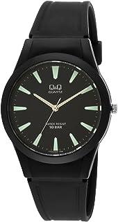Q&Q Regular Analog Black Dial Men's Watch - VQ50J005Y