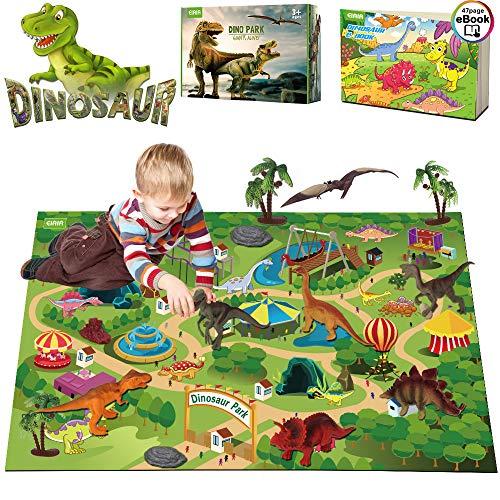 (Kupon DISKON 30%) Mat Bermain Mainan Dinosaurus $ 11,19