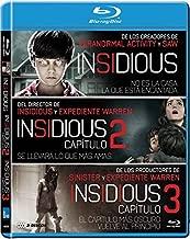 Insidious Collection Set Insidious / Insidious: Chapter 2 / Insidious: Chapter 3  Insidious / Insidious Two / Insidious Three  NON-USA FORMAT Reg.B Spain