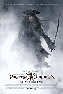 PIRATES OF THE CARIBBEAN AT WORLDS END 2 MOVIE POSTER 2 Sided ORIGINAL 27x40