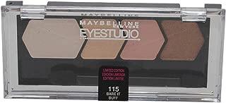 Maybelline Eye Studio Color Plush Eye Shadow ~ Bare It Buff 115 ~ Limited Edition
