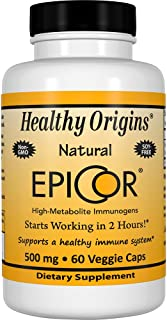 Healthy Origins Epicor Immune Balancer Multivitamin, 500 Mg, 60 Count