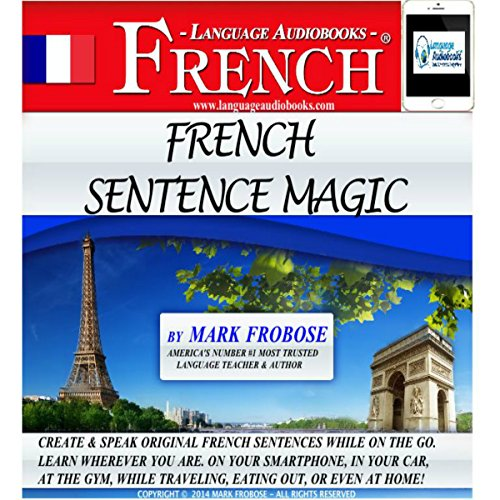 French Sentence Magic audiobook cover art