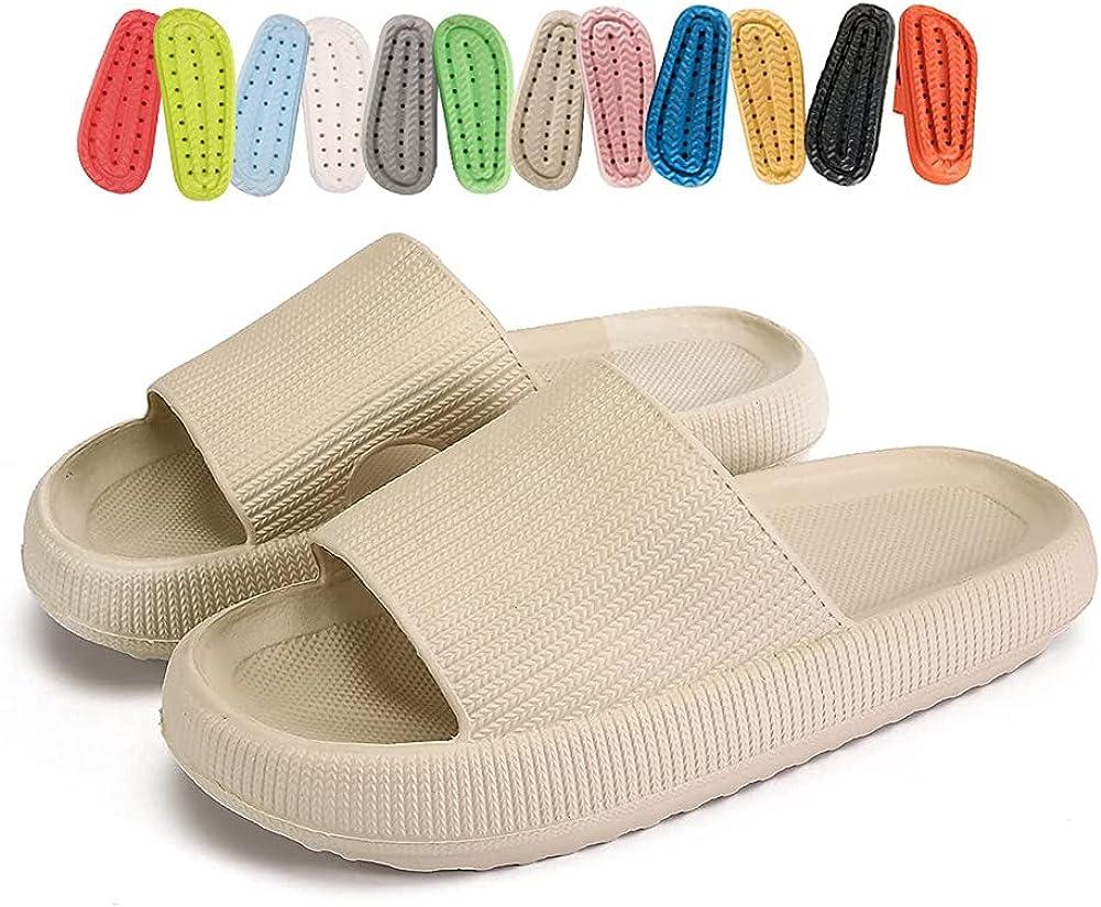 Platform Pillow Slides slippers Men for Ranking TOP12 Mesa Mall Women ,Lightweight