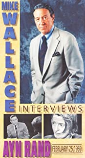 Mike Wallace Interviews Ayn Rand (February 25, 1959) [VHS]